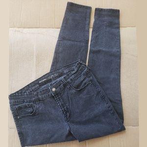 Old Navy Rockstar Mid Rise Black Jeans